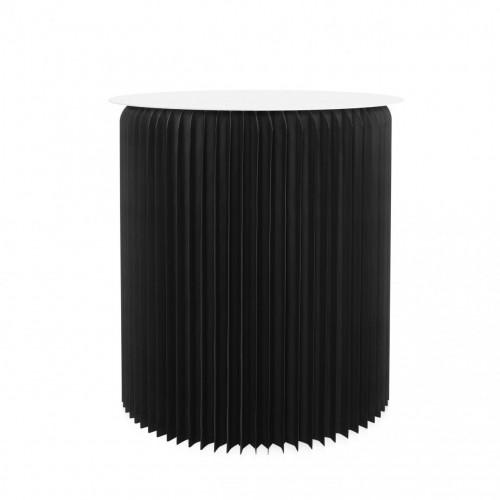 Table ronde pliable - Noir...