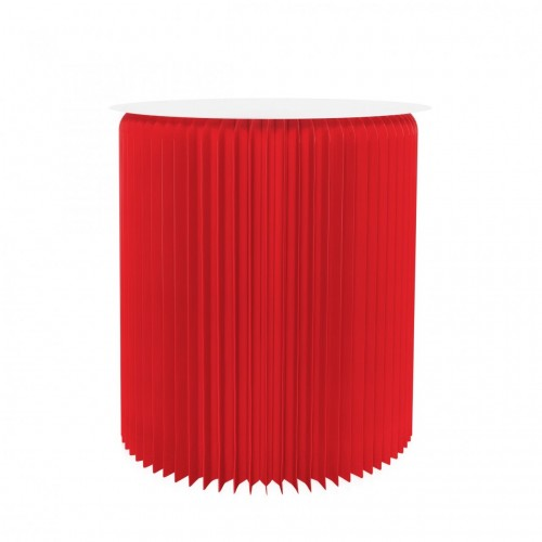 Table ronde pliable - Rouge...