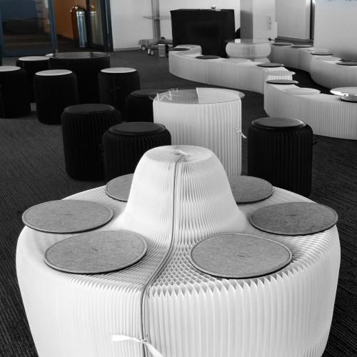 Sofa extensible - Blanc